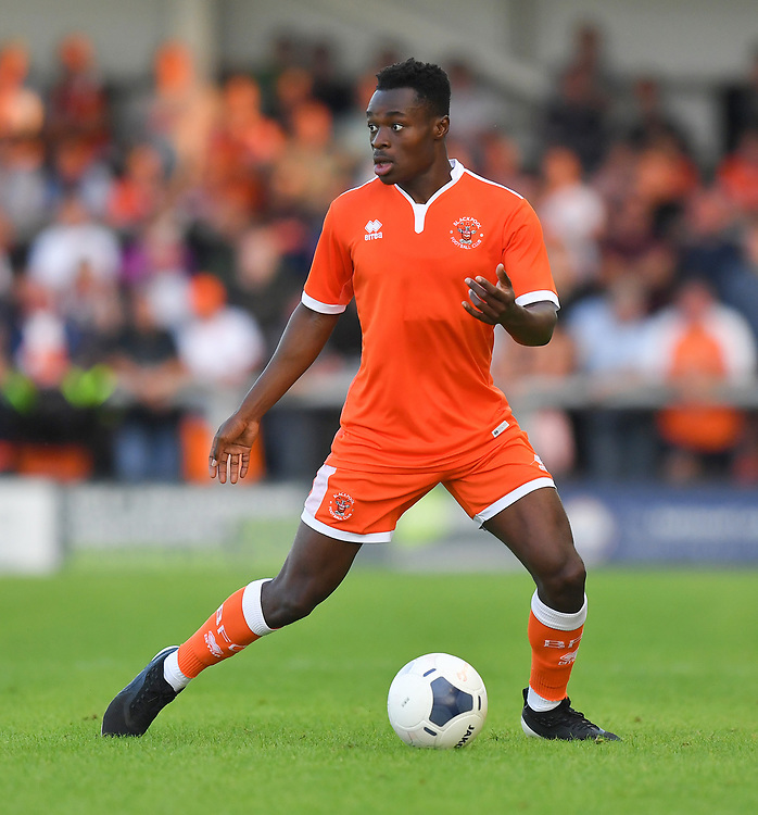 Photographer Dave Howarth/CameraSport<br /> <br /> Football Pre-Season Friendly - AFC Fylde v Blackpool - Tuesday July 16th 2019 - Mill Farm - Fylde<br /> <br /> World Copyright © 2019 CameraSport. All rights reserved. 43 Linden Ave. Countesthorpe. Leicester. England. LE8 5PG - Tel: +44 (0) 116 277 4147 - admin@camerasport.com - www.camerasport.com