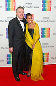 Harolyn Blackwell and Peter Greer arrive for the formal Artist's Dinner honoring the recipients of the 2013 Kennedy Center Honors hosted by United States Secretary of State John F. Kerry at the U.S. Department of State in Washington, D.C. on Saturday, December 7, 2013. The 2013 honorees are: opera singer Martina Arroyo; pianist,  keyboardist, bandleader and composer Herbie Hancock; pianist, singer and songwriter Billy Joel; actress Shirley MacLaine; and musician and songwriter Carlos Santana.<br /> Credit: Ron Sachs / CNP
