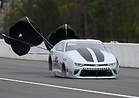 Mar 17, 2019; Gainesville, FL, USA; NHRA pro stock driver Chris McGaha during the Gatornationals at Gainesville Raceway. Mandatory Credit: Mark J. Rebilas-USA TODAY Sports