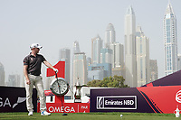 Richard McEvoy (ENG) in action during the first round of the Omega Dubai Desert Classic, Emirates Golf Club, Dubai, UAE. 24/01/2019<br /> Picture: Golffile | Phil Inglis<br /> <br /> <br /> All photo usage must carry mandatory copyright credit (&copy; Golffile | Phil Inglis)