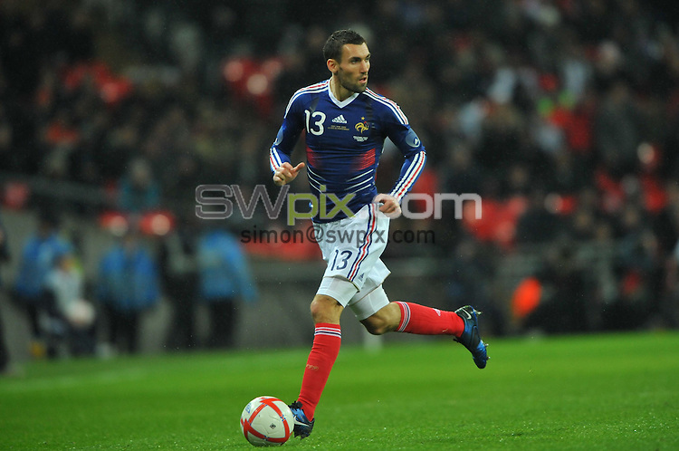 Anthony REVEILLERE - 17/11/2010 - Angleterre / France - Match amical, Wembley Stadium, London. Photo: Dave Winter / Icon Sport.
