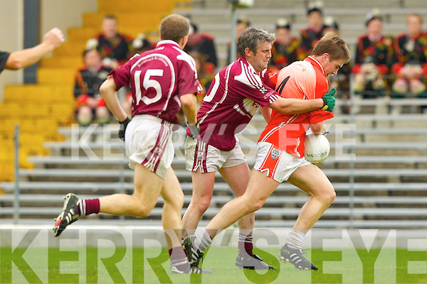 Scartaglin v Brosna in the Castleisland Mart Novice Club Championship Final at Fitzgerald Stadium on Sunday.
