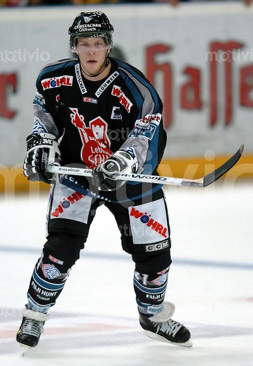 Eishockey, Vorbereitung DEL 2004/2005, Arena Nuernberg (Germany), MERCURE-CUP 2004, Ice Tigers - Krefeld Pinguine (3:0) Yan Stastny (IceTigers)