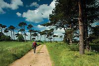 The John Muir Way near Dunbar, East Lothian