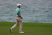 Maximilian Kieffer (GER) on the 9th during Round 1 of the Oman Open 2020 at the Al Mouj Golf Club, Muscat, Oman . 27/02/2020<br /> Picture: Golffile   Thos Caffrey<br /> <br /> <br /> All photo usage must carry mandatory copyright credit (© Golffile   Thos Caffrey)