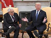 Donald Trump Meets Dr. Henry Kissinger