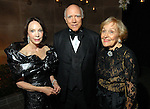 Honorees Cornelia Long, Isaac Arnold and Isabel Wilson at the Silver Ball at the Museum of Fine Arts Friday Oct. 10,2008. (Dave Rossman/For the Chronicle)