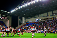 Picture by Alex Whitehead/SWpix.com - 20/04/2018 - Rugby League - Betfred Super League - Wigan Warriors v Castleford Tigers - DW Stadium, Wigan, England - A General View (GV).