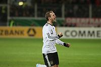 Torjubel Konstantin Rausch (D) beim 1:0