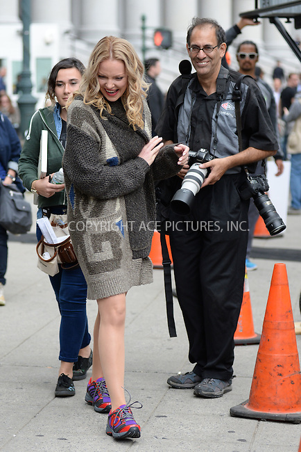 WWW.ACEPIXS.COM<br /> October 14, 2015 New York City<br /> <br /> Katherine Heigl and Steve Sands on location filming the TV series 'Doubt' in New York City on October 14, 2015.<br />  <br /> Credit: Kristin Callahan/ACE<br /> <br /> tel: 646 769 0430<br /> Email: info@acepixs.com<br /> www.acepixs.com