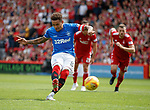 05.08.18 Aberdeen v Rangers: James Tavernier scores from the penalty spot