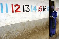 Nairobi .Una scuola di padri comboniani dello slum di Korogocho alla periferia di Nairobi  ..Nairobi: Combonian Fathers school in the Korogocho slum