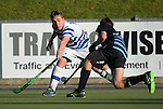 Action from the 2016 Rankin Cup boys hockey match between King's High School and St Kentigern College at National Hockey Stadium, Wellington, New Zealand on Wednesday, 31 August 2016. Photo: Dave Lintott / lintottphoto.co.nz