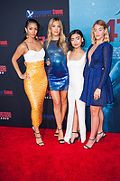 Los Angeles, CA - AUGUST 13th: <br /> Corinne Foxx, Sistine Rose Stallone, Brianne Tju, Sophie Nélisse attends the 47 Meters Down: Uncaged premiere at the Regency Village Theater on August 13th 2019. Credit: Tony Forte/MediaPunch