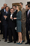 Queen Letizia of Spain visits the exhibitions from Kunstmuseum of Basel at Reina Sofia Museum in Madrid. March 17, 2015. (Carlos Alvarez/POOL/ALTERPHOTOS)