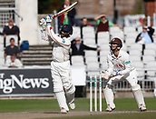 28th September 2017, Old Trafford Cricket Ground, Manchester, England; Specsavers County Championship, day 4, Lancashire versus Surrey; Shivnarine Chanderpaul sealed a Lancashire victory in the first half hour of play with a series of big boundaries