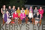 RETIRED; Breda Kenny who retired from the Emily Ward, Kerry General Hospital after 28years on Saturday and her friends of the Emily Ward treated her to dinner to mark her retirement in Ballgarry House Hotel & Spa, Tralee. Front l-r: Jacky McCull, Marie O'Brien,Breda Kenny, Maude Creagh and Mary O'Sullivan. Back l-r: Helen Murphy, Liz Cogan, Mairead Sheehan, Helen Flaherty, Catherine Grace, Mary Carmody, Mary Godley and Margaret Kelly.