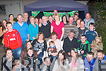 Imelda O'Sullivan,Kevin Barry's Villas,Tralee(seated centre)got a monster surprise from her family who secretly organised a wonderful 60th birthday party at their home last Saturday night with many friends,family and neighbours attending.