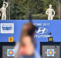 Finale 3-4 Posto Compound Women <br /> Roma 02-09-2017 Stadio dei Marmi <br /> Roma 2017 Hyundai Archery World Cup Final <br /> Finale Coppa del mondo tiro con l'arco <br /> Foto Andrea Staccioli Insidefoto/Fitarco