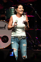 HOLLYWOOD FL - FEBRUARY 10: Gretchen Wilson performs during the 48th annual Seminole Tribal Fair at the Hard Rock Events Center held at the Seminole Hard Rock Hotel & Casino on February 10, 2019 in Hollywood, Florida. Credit: mpi04/MediaPunch