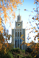 November 25th, 2015-  Fall Campus Scenes<br /> <br /> A view of the Admin Building.