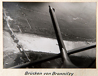 BNPS.co.uk (01202 558833)<br /> Pic: Dickins/BNPS<br /> <br /> Operation Barbarossa - View back to a destoyed bridge.<br /> <br /> The unseen personal photo album of Field Marshal Wolfram von Richthofen, cousin to the legendary Red Baron, which gives an unprecedented insight into his military career in the Third Reich, has been rediscovered.<br /> <br /> Wolfram served in the Red Baron's squadron in the WW1, went on to design the 'Jericho trumpet' of the infamous Stuka Bomber between the wars, before leading the Condor Legion in the Spanish Civil War.<br /> <br /> After the outbreak of WW2 the fascinating album shows Richthofen's lead roll in Operation Barbarossa - the Nazi's suprise invasion of Communist Russia and their race to conquer the vast country before the onset of the notorious Russian winter.<br /> <br /> The two albums were taken from Berlin by a British soldier at the end of the Second World War who kept it for 60 years before it was passed into the hands of a private collector.<br /> <br /> Dickins auctions are selling the historic albums with a &pound;20,000 estimate on 31st March.