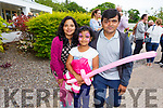 Kavathata, Luthi and Pramod Ramaatht at the Dairymaster 50th Anniversary BBQ in the Ballygarry Hotel on Sunday.