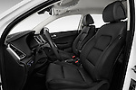 Front seat view of 2015 Hyundai Tucson Launch Edition 5 Door Suv Front Seat car photos