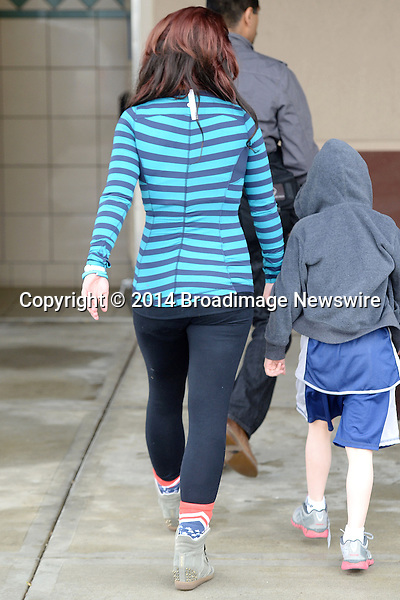 Pictured: Britney Spears<br /> Mandatory Credit &copy; Milton Ventura/Broadimage<br /> Britney Spears and David Lucado went to the library in Agoura Hills <br /> Britney Forgot to remove the tag from her top<br /> <br /> 3/1/14, Agoura Hills, California, United States of America<br /> <br /> Broadimage Newswire<br /> Los Angeles 1+  (310) 301-1027<br /> New York      1+  (646) 827-9134<br /> sales@broadimage.com<br /> http://www.broadimage.com