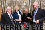 Enjoying the Lee Strand Social at Ballygarry House Hotel on Saturday were Robert Groves, Bridget Herlihy, Betty Groves and Ted Herlihy