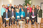 KERRY HOSPICE: The Kerry Hospice Foundation committee members, artist and friends launching the Kerry Hospice Foundation 2009 Christmas Card Collection sponcered by Kerry Group at the Palliative Care Suite at Kerry General Hospital on Monday..