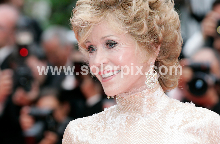 **ALL ROUND PICTURES FROM SOLARPIX.COM**                                             **UK AND SPAIN SYNDICATION RIGHTS ONLY**                                                                                   Arrivals at Les Bien-Aimes premiere and closing night 64th Cannes Film Festival                                                                            .This pic:    Jane Fonda                                                                                          JOB REF:    13419    CPR Heinz       DATE:  24.05.11                                                          **MUST CREDIT SOLARPIX.COM OR DOUBLE FEE WILL BE CHARGED**                                                                      **MUST AGREE FEE BEFORE ONLINE USAGE**                               **CALL US ON: +34 952 811 768 or LOW RATE FROM UK 0844 617 7637**