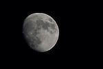 moon waxing gibbous