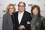 Barbara Olcott and Gretchen Cryer attend the reception for the 2018 Presentation of New Works by the DGF Fellows on October 15, 2018 at the Playwrights Horizons Theatre in New York City.