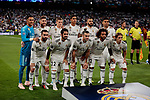 Real Madrid's players during Champions League match. September 19, 2018. (ALTERPHOTOS/A. Perez Meca)