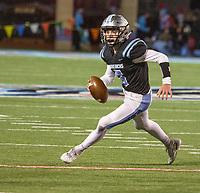 Fort Smith Southside quarterback Luke Wyatt rolls out during Friday's game against Northside.