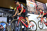 Nicolas Roche (IRL) BMC Racing Team on stage at the Team Presentation in Burgplatz Dusseldorf before the 104th edition of the Tour de France 2017, Dusseldorf, Germany. 29th June 2017.<br /> Picture: Eoin Clarke | Cyclefile<br /> <br /> <br /> All photos usage must carry mandatory copyright credit (&copy; Cyclefile | Eoin Clarke)