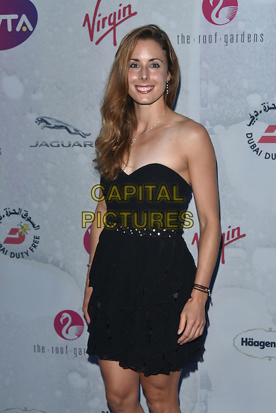 Alize Cornet at WTA pre-Wimbledon Party at The Roof Gardens, Kensington on june 23rd 2016 in London, England.<br /> CAP/PL<br /> &copy;Phil Loftus/Capital Pictures