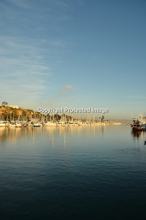 Evening at Dana Point Harbor