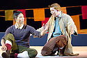 Herges Adventures of Tin Tin directed by Rufus Norris. A Young Vic Theatre Production. With Russell Tovey as Tin Tin, Tom Wu as Tharkey. Opens at the Barbican Theatre on 14/12/05. CREDIT Geraint Lewis