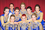 Spa dancers who competed at the All Ireland Scor finals in the INEC Killarney on Saturday front row l-r: Trish Murphy, Ann Marie Nelligan, Triona Mangan. Back row: Sarah Jane Taylor, Maureen Hegarty, Kirsty Landers, Joanne O'Connor, Sinead Cronin and Mairead Mangan.