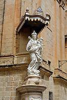 Karmeliterkirche in Mdina, Malta, Europa