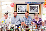James O'Sullivan enjoying his 40th birthday celebration in the Towers Hotel, Glenbeigh on Sunday with l-r: Michael John Sheahan, Monty Sullivan, James O'Sullivan and Joan O'Sullivan.