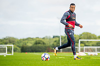Wednesday 26 July 2017<br /> Pictured: Martin Olsson in action during training <br /> Re: Swansea City FC Training session takes place at the Fairwood Training Ground, Swansea, Wales, UK