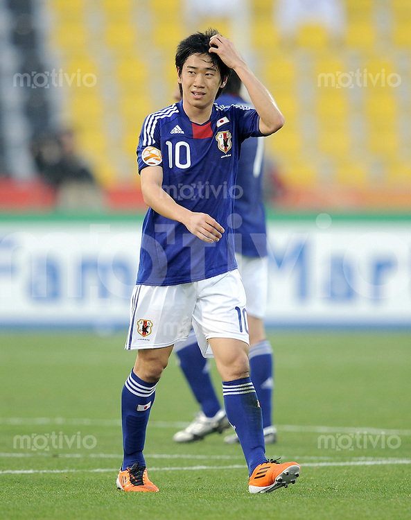 Fussball AFC Asian Cup 2011    09.01.2011 Japan - Jordanien Shinji Kagawa (Japan)