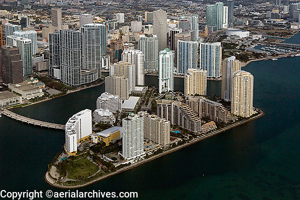 aerial photograph Miami, Florida
