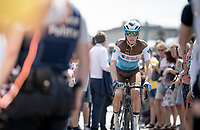 Romain Bardet (FRA/AG2R-LaMondiale) at the race start in Brussels<br /> <br /> Stage 1: Brussels to Brussels (BEL/192km) 106th Tour de France 2019 (2.UWT)<br /> <br /> ©kramon