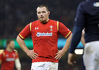 Ken Owens of Wales during the RBS 6 Nations Championship rugby game between Wales and Scotland at the Principality Stadium, Cardiff, Wales, UK Saturday 13 February 2016