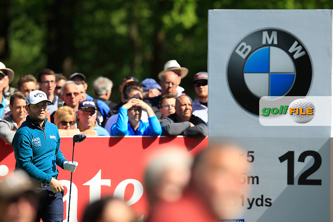 Branden GRACE (RSA) during round 1 of the 2015 BMW PGA Championship over the West Course at Wentworth, Virgina Water, London. 21/05/2015<br /> Picture Fran Caffrey, www.golffile.ie: