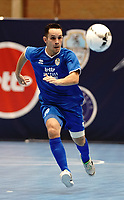 20191010 - HALLE: Halle-Gooik's Tiago Carpes  is pictured during the UEFA Futsal Champions League Main Round match between FP Halle-Gooik (BEL) and Kherson (UKR) on1 0th October 2019 at De Bres Sportcomplex, Halle, Belgium. PHOTO SPORTPIX | SEVIL OKTEM